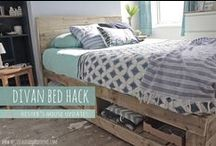 DIY: Upcycling& Furniture hacks / Reuse, update and repurpose your old pieces of furniture and small bits and bops into new master pieces!
