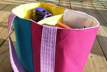 Sewing - bags and pouches / Ideas and instructions for bags and pouches