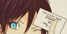 Noragami Fever / The one about Yato and his blue eyes...