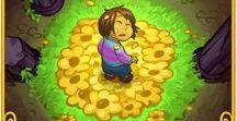 """Undertale / The one about an agender kid, a yellow flower and """"Torieeeeel, let me go !!"""""""