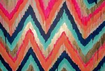 Ikat and Central Asian Design
