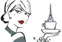 Paris Arte e Ilustrações  / by Patrícia Martins