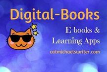BOOKS: E-books & Learning Apps for Children / Interactive and digital books ... Little fingers (and big ones, too!) love handling phones, readers and tablets.  What a great opportunity to instill the love of reading and make learning fun!