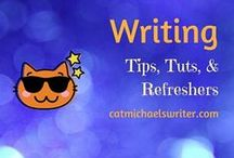 Writing Tips and Refreshers for Scribblers / Templates, tools and miscellaneous goodies to pump up writing muscles.  Plus painless grammar refreshers.