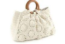 Bag - DIY, crochet, knit, etc / by AHdR