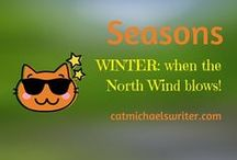 "SEASONS: #Winter: When the North Wind Blows / I moved to the US South to escape the cold, but I still love our occasional cold winter's day.  Along with my book character, Tara, in ""Sweet T and the North Wind,"" we make the best of it -- especially since we know any snow we get is melts away within a day or so."