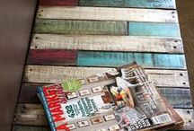 pallet pearls / DIY pallet construction and great things to do with old pallets