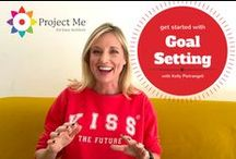 2017 Goals that ROCK! / Project Me for Busy Mothers help you design #goals in each of your 8 key life areas: #productivity, #health, #family, #love, #personalgrowth, #money, #work and #fun #friendships.