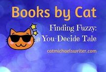 BOOKS by Cat Michaels: Finding Fuzzy: a You-Decide Tale of a Lost Friend / Chapter book Gr. 1-3  by Cat Michaels; Illustrated by Irene A. Jahns   2014 Purple Dragonfly Book Award Second place: best writing   Jenna is devastated when she loses Fuzzy, her rabbit stuffy on a family beach vacation.  Then she stumbles on a secret and faces a difficult decision.  Even Cat doesn't know how this You-Decide story ends. Readers write or draw their own finish to this tale!  ~ www.catmichaelswriter.com~ ~ Find Fuzzy on Amazon ~  http://www.amazon.com/Cat-Michaels/e/B00GEAJQTQ