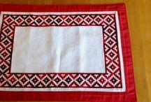 Mis bordados / Cross stitch