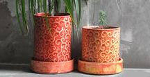 Ceramics for flowers. Ceramika dla kwiatów. / Ceramic, handpainted flowerpots, casings and vases. Ceramiczne, ręcznie malowane doniczki, osłonki i wazony.