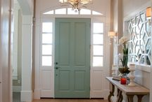 Color interior doors / Painted interior doors, black interior doors