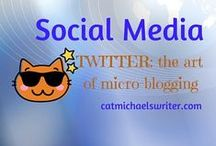 SOCIAL MEDIA: Twitter 101 for Writers (or anybody else) in the Digi-age / How to tweet, follow, and manage micro-blogging in the twittosphere.  I'll be honest: Twitter often bedevils me.  Hard to be interesting in 140 characters and sort through a gazillion tweets.