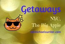 GETAWAYS ... The Big Apple /  How to navigate, thrive, and keep to a budget in the city that never sleeps ~ catmichaelswriter.com