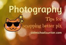 PHOTOGRAPHY: Tips for taking better pix / Tips for taking better photos on every day cameras or smart phones, especially when photographing children.
