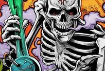 Skulls -My Obsession- / Them Bones