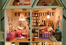 dollhouses / large dollhouse designs, plans etc