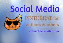 Social Media  ~ Pinterest 101 for Authors and Others / I adore Pinterest and can get happily lost looking through pins.  But Pinterest is also a powerful platform for writers, allowing them to showcase their interests and creativity without buy-my-book marketing.  A lovely way to be social and share others' content, too.