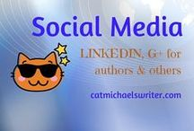 SOCIAL MEDIA: G+, Linkedin / While I'm not overly active on these social media platforms as a writer, I want to know about them and establish a stronger presence there.  LinkedIn is especially great for sharing original content or curating business-related posts.