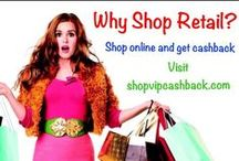 Get Paid to Shop Online / If you are not getting CASHBACK on all your shopping and travel then sign up for FREE.  www.shopvipcashback.com