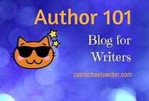 Blog ~ Author 101: Tips and Tricks for Writers / The writing journey is a long one.  And with all that social media and technology on top of authoring, it's easy to smack into social media overload. To make it easier, I oinned angst-saving tips found along my way. I'm still learning, so please join me. Let's travel this writing journey together!