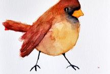 Birds wild and free / birds the inspire and make us happy every day. bird ornaments, bird paintings, bird garlands