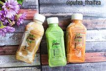 @putea_thaitea / Homemade thaitea. Fresh & no preservatives  Instagram: @putea_thaitea Facebook: putea_thaitea