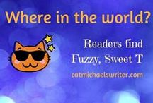 Where in the world?? / Finding my book characters.