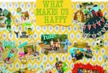 Celebrate Happiness at Home / What makes you happy? Celebrate your happiness at home, get crafty and join the fun around International Day of Happiness! Make a DIY happiness board with your family and raise the happiness level in your house!