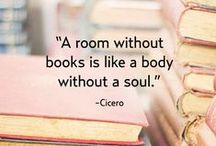 """Books / """"Sleep is good, he said, And books are better."""""""