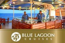Blue Lagoon Cruise Staff / The staff on the Fiji Princess are all Fijian. They are friendly and well-trained. They go out of their way to make sure that guests are treated well.