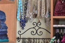 Jewelry organizer /  Хранение и организация бижутерии