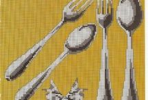 Embroidery Cutlery