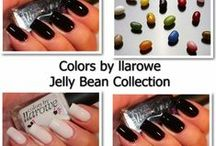 Colors by llarowe Jellybean Collection / CbL nail polish swatches of the Jellybean collection. Jellies and crellies in a variety of colors!