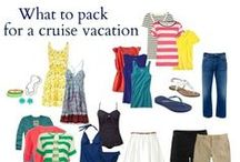 Cruise Packing / These ideas will come in handy when you pack for your Blue Lagoon Cruise.