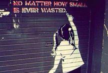 Banksy / Street art / by Mia Bongiovani