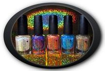 Dr. Who Flakies Collection / Nail polish -Dr. Who themed flakies collection