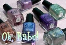 Oh, Baby! / A collection of 7 LE holographic shades with names that show the real experience of having babies! Launch date March 15, 2015 on www.llarowe.com