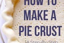 Pie Crust & Filling Recipes
