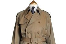 "batak: Classic Trench Coat / ""Nothing trendy, a truly authentic trench coat..."" A high-quality description of the trench coat on the domain: batak - bags of Tailor's knowledge A japaneese website, rich of information on certain garments."
