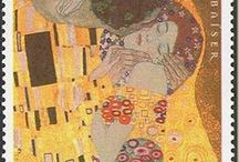 "Der Kuß / variations of Gustav Klimt's ""The Kiss (Lovers),"" 1907-1908"