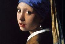 "Meisje met de parel / variations of Johannes Vermeer's ""Girl with a Pearl Earring,"" c. 1665"