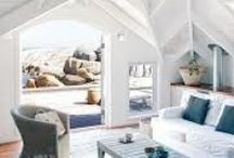 #SaltieLife Living / Beach house interior design insporation for your Saltie Soul. Get beachy and stay classy. Check out our range of  Saltie Soul sea scrubs at www.saltiesoul.com