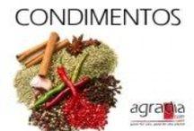 Agradia condimentos / condiments