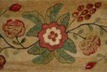 Antique Hooked Rugs / by Louise Tietjen