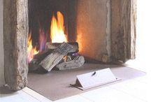 Earth, wind & ... / Fireplaces, chimneys, decor, Architecture, Interior design, homes, style, furnishings, accessories. Nikohl cadeau interiors www.nikohlcadeau.com