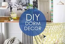 Dorm Room Ideas + Organization / Ready for college? We have the best dorm room ideas for decorating and organization!