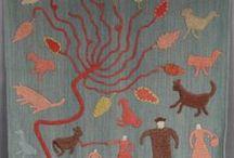 Granny Donaldson / Folk Art Applique / by Louise Tietjen