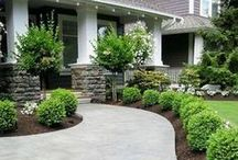 Curb Appeal / We appreciate the little details and the beauty of the outdoors!