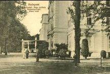 Városrészek és épületek / Ismerjük meg a 20. század eleji Budapest egyes részeinek és épületeinek történetének hátterét!